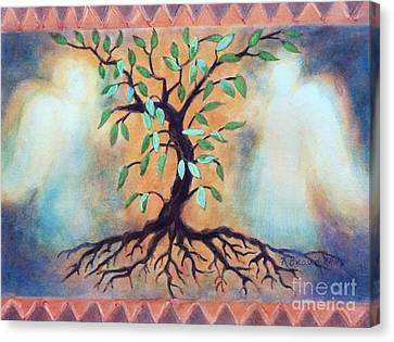 Tree Of Life Canvas Print by Kathy Braud
