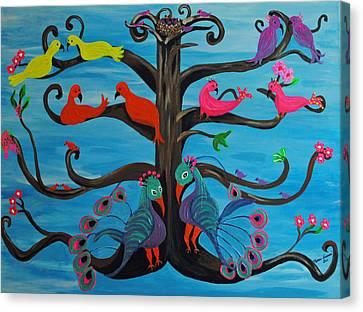 Tree Of Life Canvas Print by Melanie Wadman