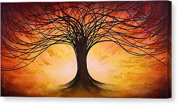 Tree Of Life Canvas Print by Michael Lang