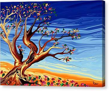 Tree Of Life Canvas Print by Robin Monroe
