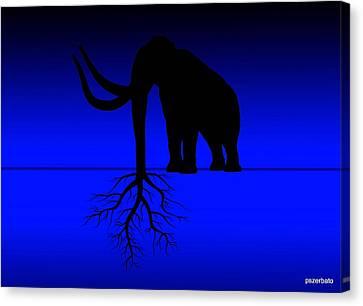 Tree Of Strength Prosperity And Longevity Canvas Print