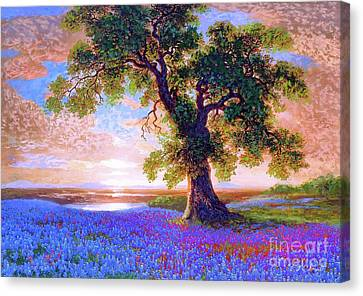 Oaks Canvas Print - Tree Of Tranquillity by Jane Small