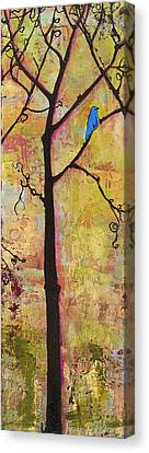 Blendastudio Canvas Print - Tree Print Triptych Section 2 by Blenda Studio
