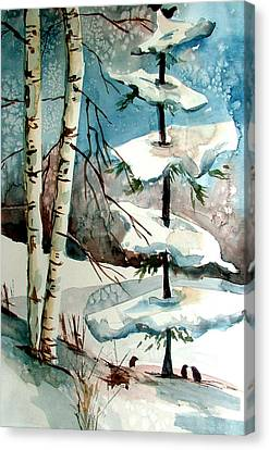 Tree Talkers Canvas Print