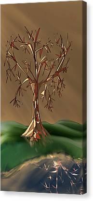 Tree Untitled Canvas Print by Denny Casto