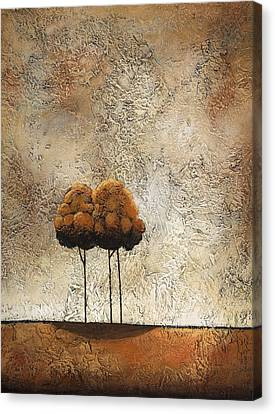 Trees 3 Canvas Print by Jane Hunt