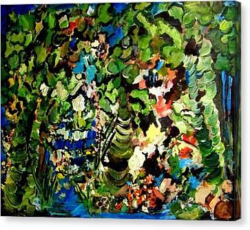 Trees Canvas Print by Ellen Seymour