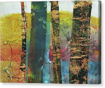 Trees Canvas Print by Melody Cleary