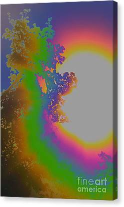 Treesun Canvas Print by Jesse Ciazza