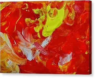 Tres Canvas Print by Anna Villarreal Garbis