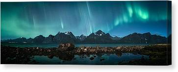 Alp Canvas Print - Trespassing by Tor-Ivar Naess