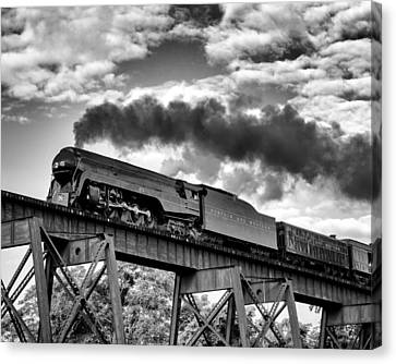 Trestle Crossing Canvas Print by Alan Raasch
