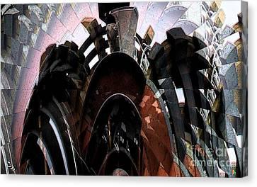 Trex Decks Canvas Print by Ron Bissett