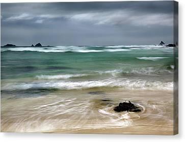 Treyarnon Bay,  Cornwall, Uk, 2 Canvas Print
