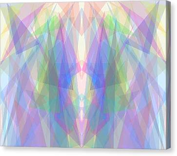Tri-angles Canvas Print