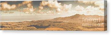 Trial Harbour Landscape Panorama Canvas Print