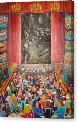 Trial Of Edgar Allen Poe Canvas Print by Bonnie Wilber