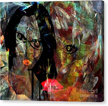 Trials - Lessons Of The Believers Canvas Print by Fania Simon