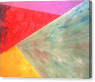 Triangles Canvas Print by Guillermo Mason