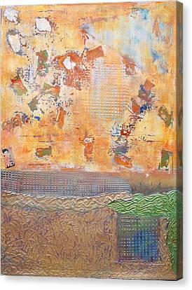 Tribal Rhythm Canvas Print