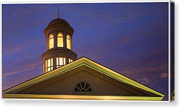 Trible Library Dome Canvas Print by Olahs Photography