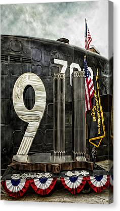 Tribute 911 Canvas Print by Peter Chilelli