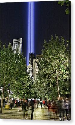 Canvas Print - Tribute In Light # 7 by Allen Beatty