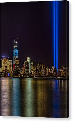 Tribute In Lights Memorial Canvas Print