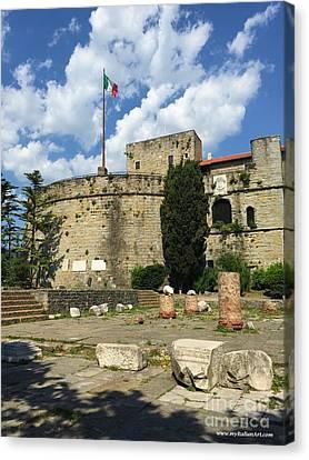 Trieste Near San Giusto Canvas Print by Italian Art