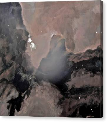 Trifid Nebula Canvas Print by Jim Ellis