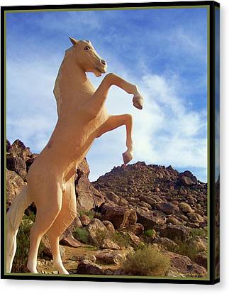 Trigger - Golden Cloud Canvas Print by Glenn McCarthy Art and Photography