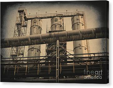 Canvas Print - Trinec Iron And Steel Works Vi by Mariola Bitner