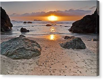 Trinidad State Beach Sunset Canvas Print