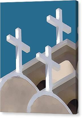 Trinity Canvas Print by Carolyn Marcotte