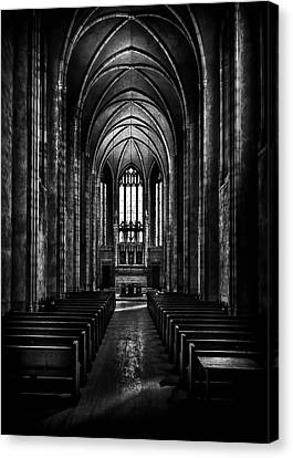 Canvas Print featuring the photograph Trinity College Chapel by Brian Carson