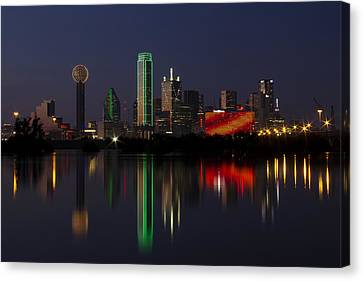 Trinity River Dallas Canvas Print
