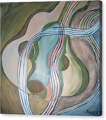 Trio Canvas Print by Aliza Souleyeva-Alexander
