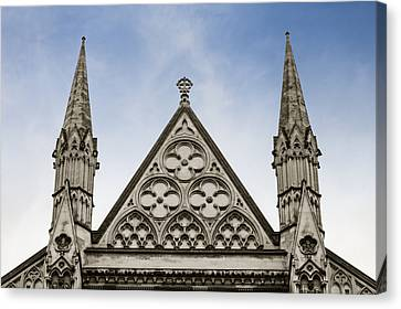 Trio At Westminster Canvas Print
