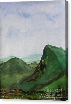 Trip To The Mountains Canvas Print