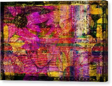 Triple Exposure Canvas Print by Diana Boyd
