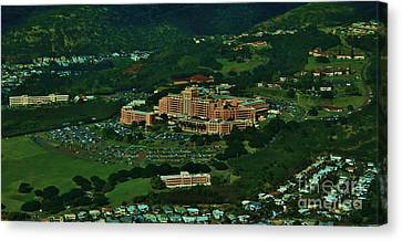 Tripler Army Medical Center Honolulu Canvas Print