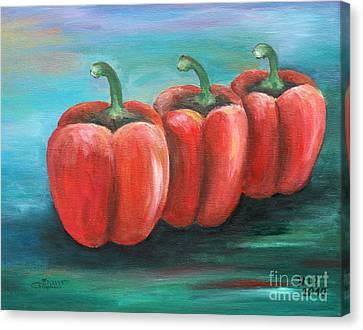 Triplets Canvas Print by Jutta Maria Pusl