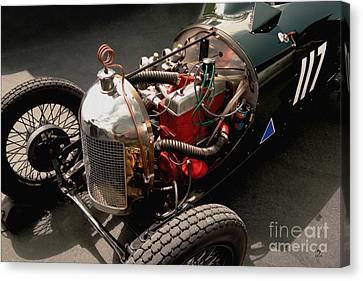 Triumph 9 1939 Canvas Print by Curt Johnson