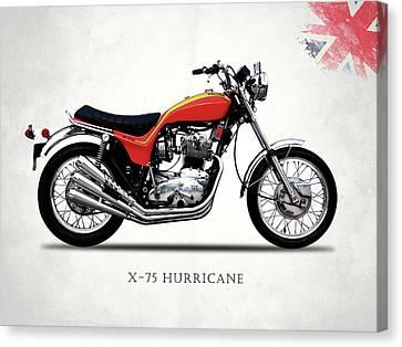 Triumph Hurricane Canvas Print by Mark Rogan