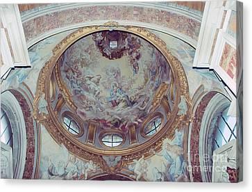 Triumph Of Saint Catherine Canvas Print by Fabrizio Ruggeri