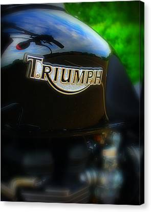 Triumph Canvas Print by Perry Webster
