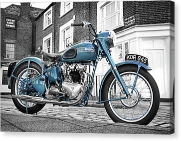 Triumph Thunderbird 1952 Canvas Print