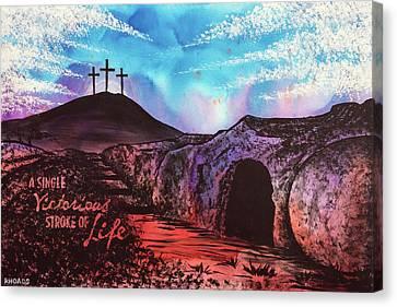 Triumphant Life Canvas Print