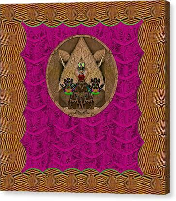 Troll In Trollywood Canvas Print by Pepita Selles