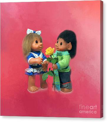 Troll Love Canvas Print